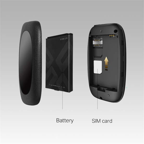 TP-Link M7000 150Mbps 4G LTE Hordozható Mobil Wi-Fi router - 3