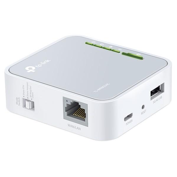 TP-Link TL-WR902AC AC750 Vezeték nélküli hordozható router - 3