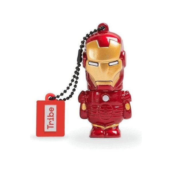Tribe 16GB USB2.0 Marvel Iron Man Flash Drive - 1