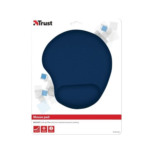 Trust Bigfoot zselés csuklótámaszos kék egérpad - 3