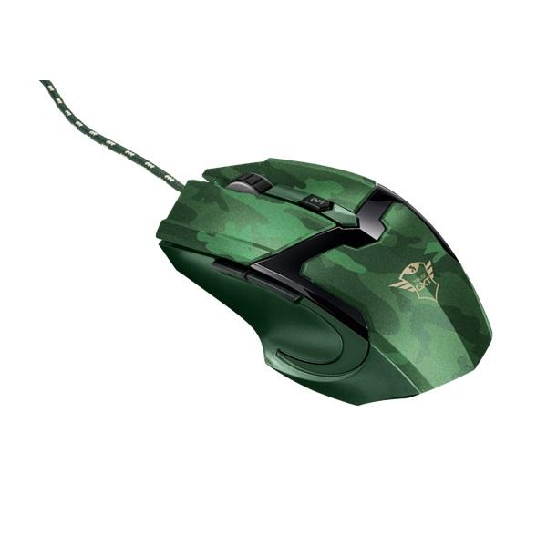 Trust GXT 101D Gav USB jungle camo gamer egér - 2