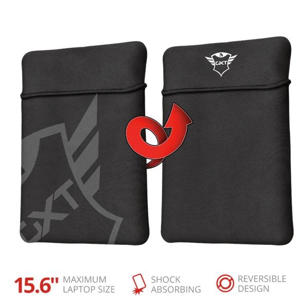 Trust GXT 1242 Lido fekete 15,6 notebook tok - 1