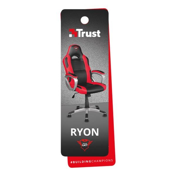 Trust GXT 705 Ryon piros/fekete gamer szék - 6
