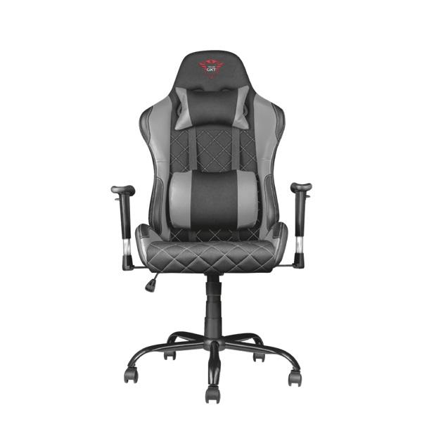 Trust GXT 707R Resto szürke/fekete gamer szék - 2