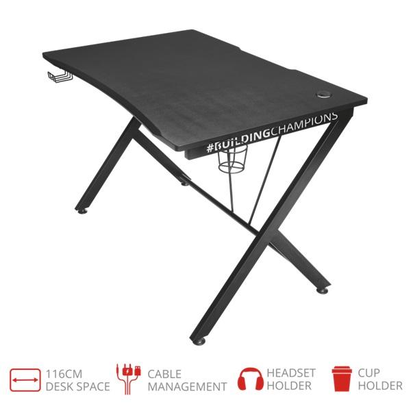 Trust GXT 711 Dominus gamer asztal - 1