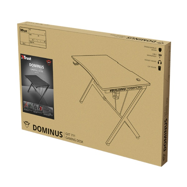 Trust GXT 711 Dominus gamer asztal - 9