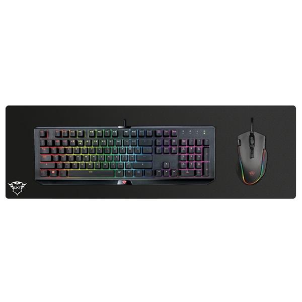 Trust GXT 758 fekete XL gamer egérpad XL - 3