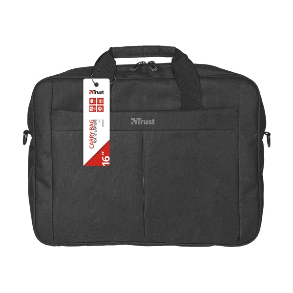 Trust Primo fekete 16 notebook táska - 1