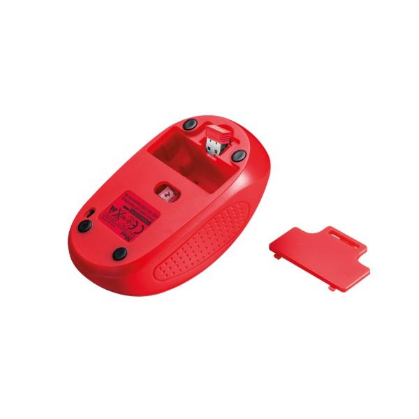 Trust Primo vezeték nélküli piros egér - 3