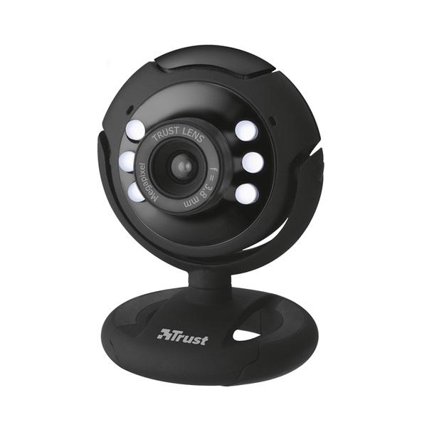 Trust SpotLight Pro 1280x1024 mikrofonos fekete webkamera - 1