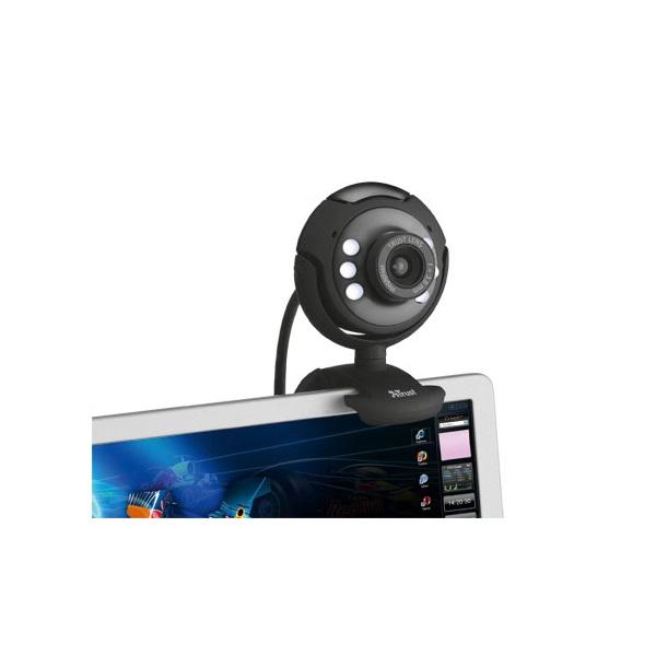 Trust SpotLight Pro 1280x1024 mikrofonos fekete webkamera - 2
