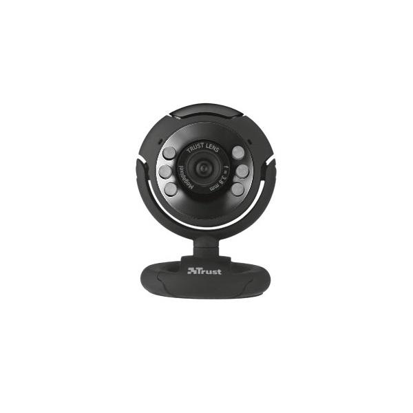 Trust SpotLight Pro 1280x1024 mikrofonos fekete webkamera - 3