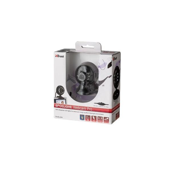 Trust SpotLight Pro 1280x1024 mikrofonos fekete webkamera - 4