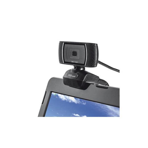 Trust Trino HD mikrofonos fekete webkamera - 3
