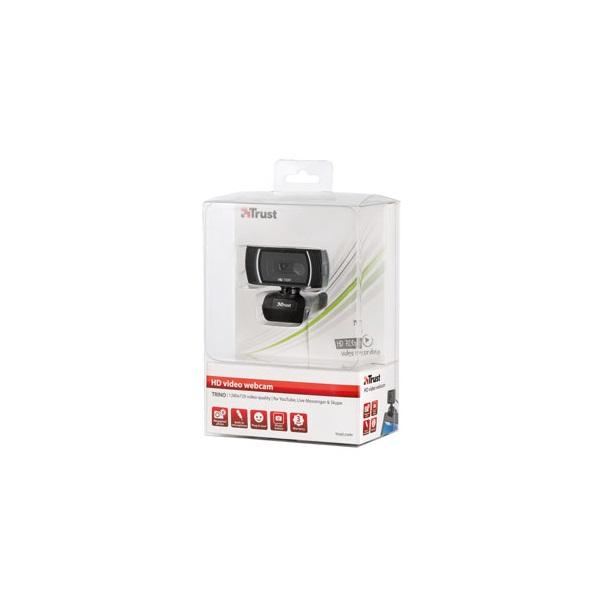 Trust Trino HD mikrofonos fekete webkamera - 4