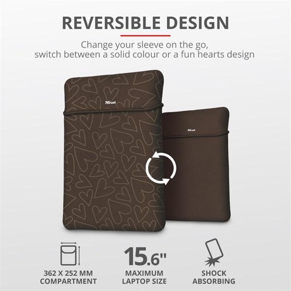 Trust Yvo barna 15,6 notebook tok + wireless egér - 2