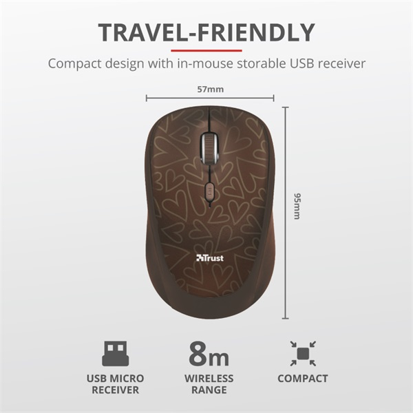 Trust Yvo barna 15,6 notebook tok + wireless egér - 4