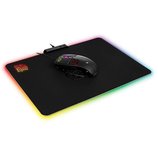 Ttesports Draconem RGB világító gamer egérpad - 2