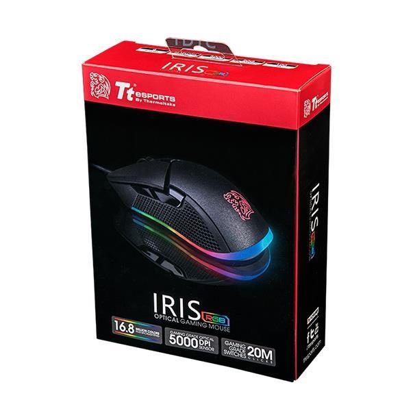 Ttesports Iris RGB USB gamer egér - 5