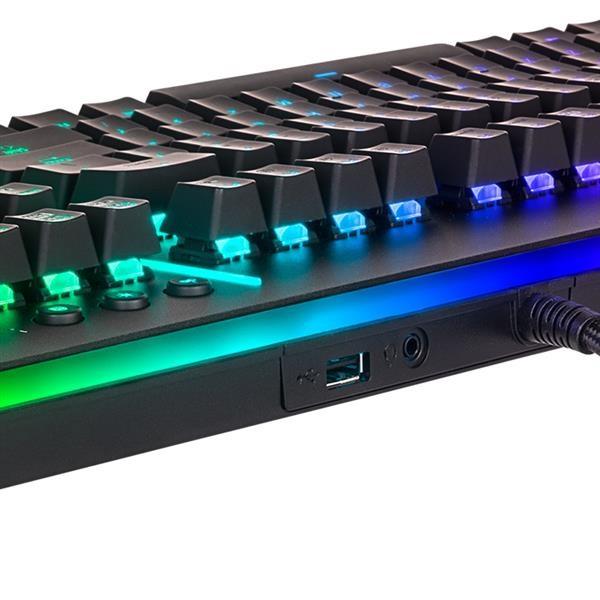 Ttesports Level 20 RGB US USB mechanikus gamer billentyűzet - 6