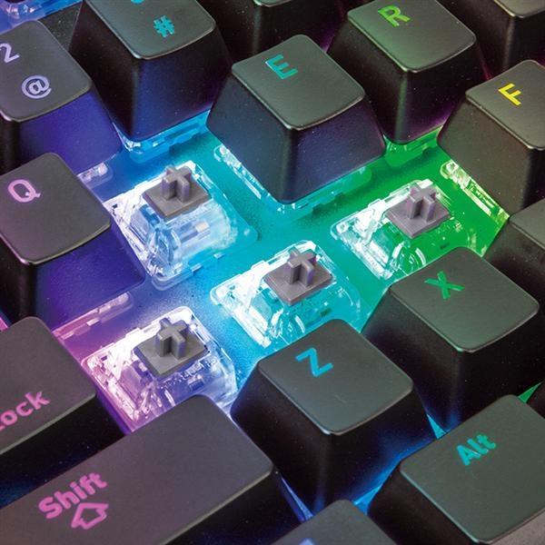 Ttesports Premium X1 (Cherry MX speed silver) RGB US USB mechanikus gamer billentyűzet - 5