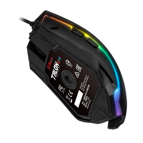 Ttesports Talon Elite USB fekete gamer egér + egérpad - 4