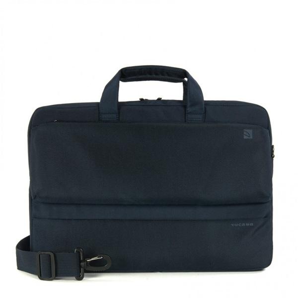 Tucano BDR15-B Dritta Slim 15,6 kék notebook táska - 1