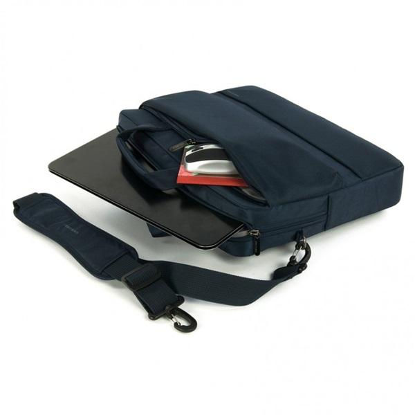 Tucano BDR15-B Dritta Slim 15,6 kék notebook táska - 3