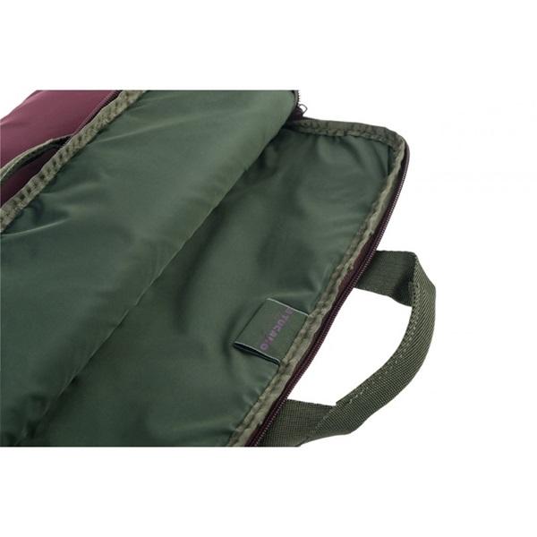 """Tucano BFML1314-BX Minilux 13,3/14"""" vörös notebook táska - 7"""