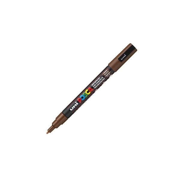 Uni POSCA PC-3M barna marker - 1