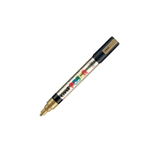 Uni POSCA PC-5M arany marker - 1