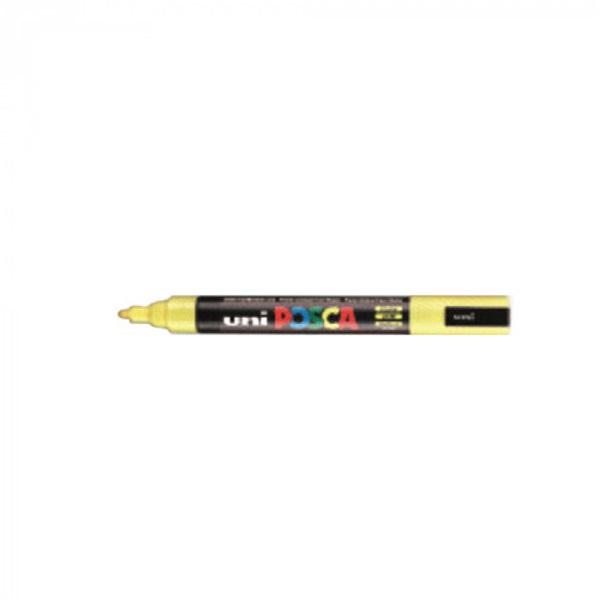 Uni POSCA PC-5M sárga marker - 1