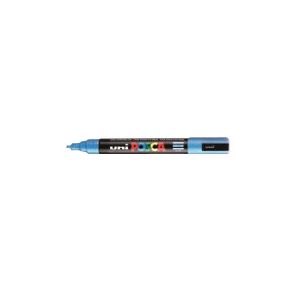 Uni POSCA PC-5M világoskék marker - 1