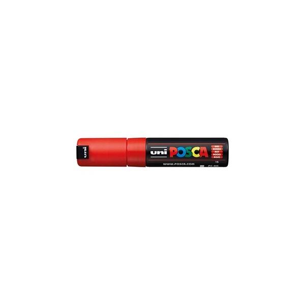 Uni POSCA PC-8K piros marker - 1