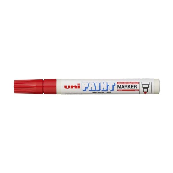 Uni PX-20 piros lakkmarker - 1