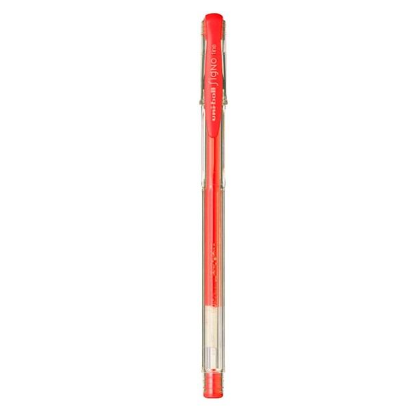 Uni UM-100 Signo 0,5mm BL piros zselésirón - 1
