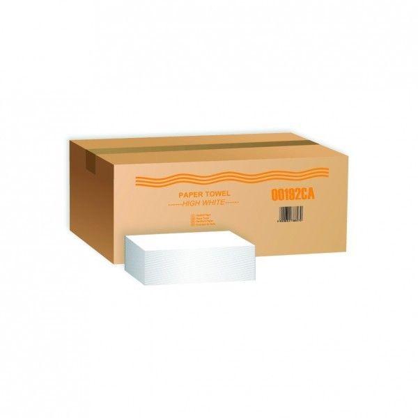 V hajt. 2rétegű cell.  200lap/csomag hajtogatott kéztörlő - 1