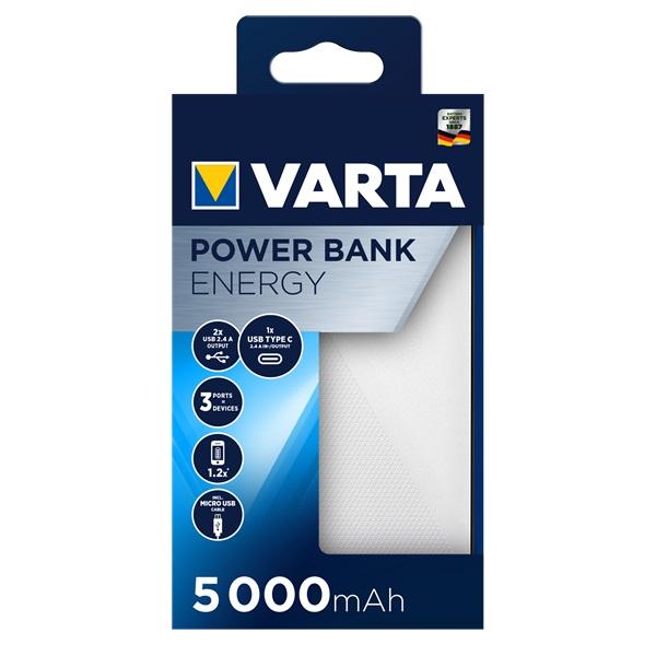 VARTA 5000mAh Portable Power Bank - 1