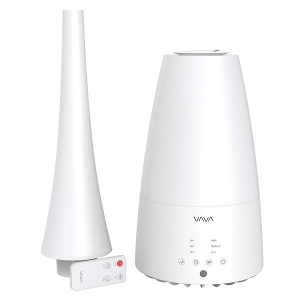 VAVA VA-AH012 fehér ultrahangos távirányítós párásító - 1