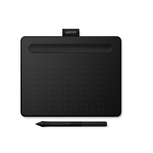 Wacom Intuos S fekete Bluetooth North digitális rajztábla - 1