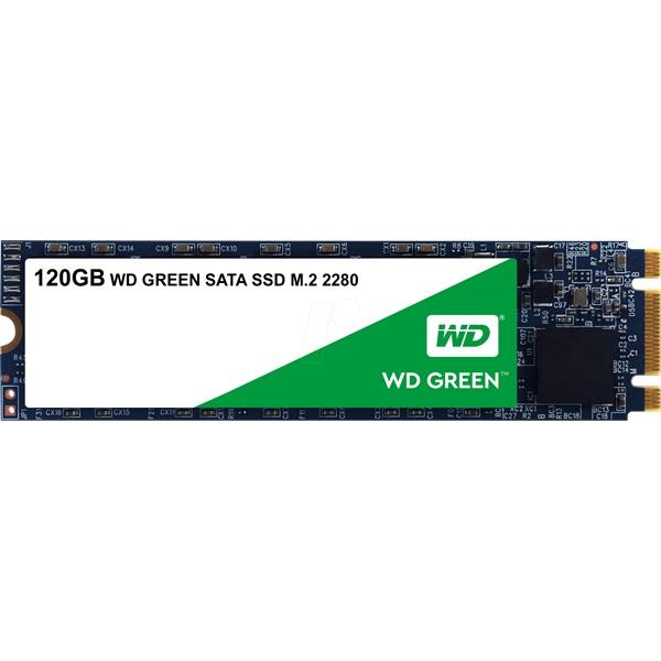 Western Digital 120GB M.2 2280 3D Green (WDS120G2G0B) SSD - 1
