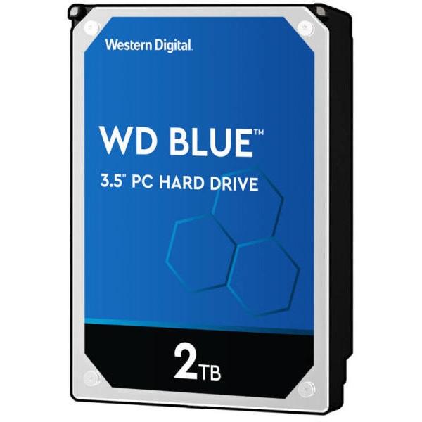 Western Digital 3,5 2000GB belső SATAIII 7200RPM 256MB Blue advanced format WD20EZBX winchester - 1
