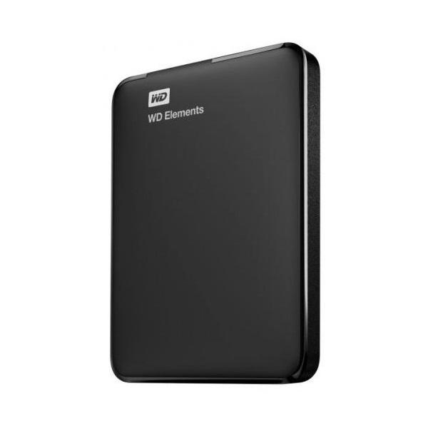 Western Digital Elements Portable WDBU6Y0040BBK 2,5 4TB USB3.0 fekete külső winchester - 1