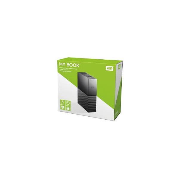 Western Digital MyBook Essential WDBBGB0080HBK 3,5 8TB USB3.0 fekete külső winchester - 2