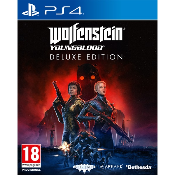 Wolfenstein Youngblood Deluxe Edition PS4 játékszoftver - 1