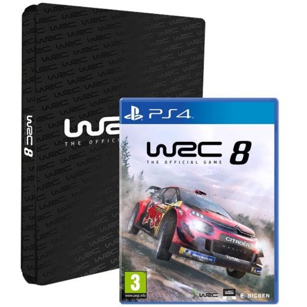 WRC 8 Collector`s Edition PS4 játékszoftver - 1