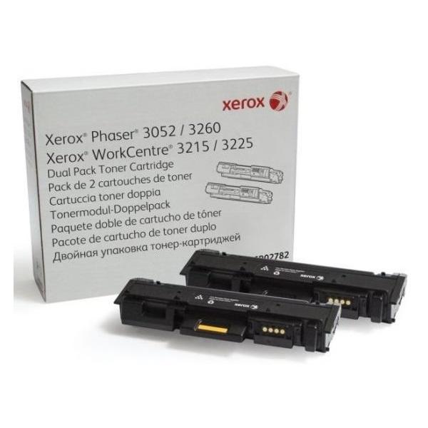 Xerox 106R02782 fekete duopack toner - 1