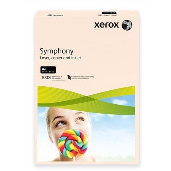 Xerox Symphony A4 160g pasztel lazac másolópapír - 1