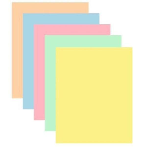 Xerox Symphony A4 80g 5x50db vegyes pasztel színű másolópapír - 1