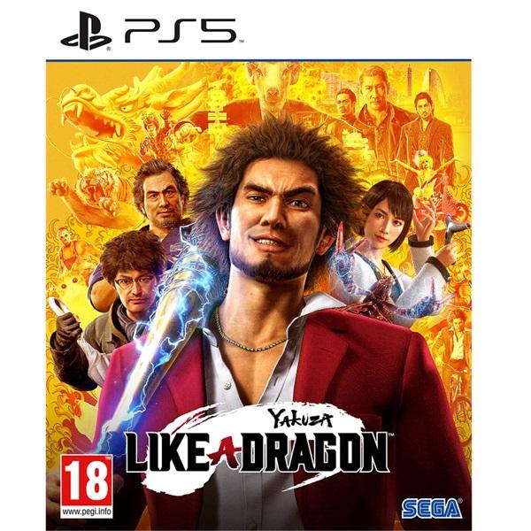 Yakuza: Like a Dragon PS5 játékszoftver - 1